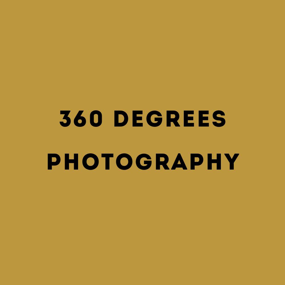 360 graden fotografie