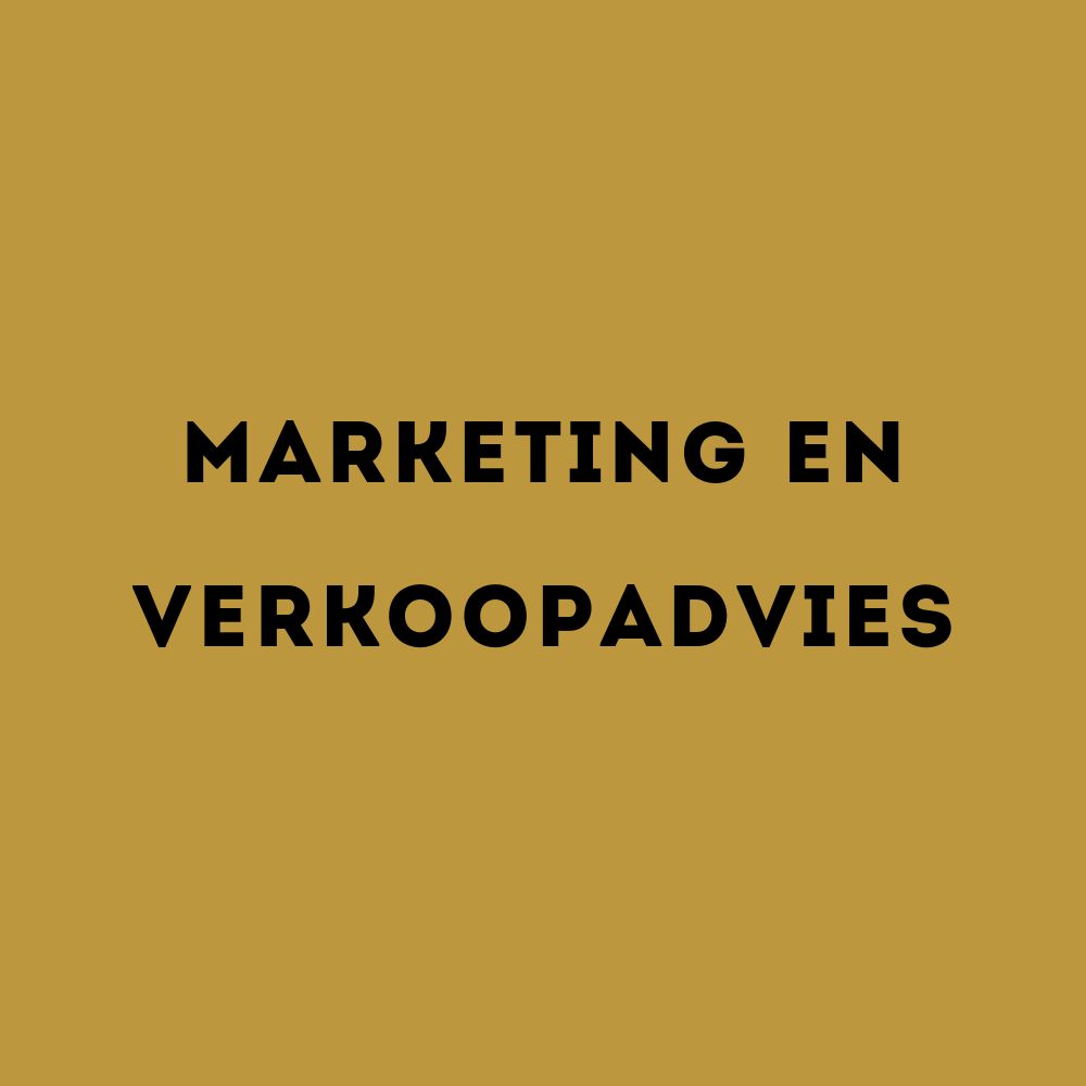marketing- en verkoopadvies