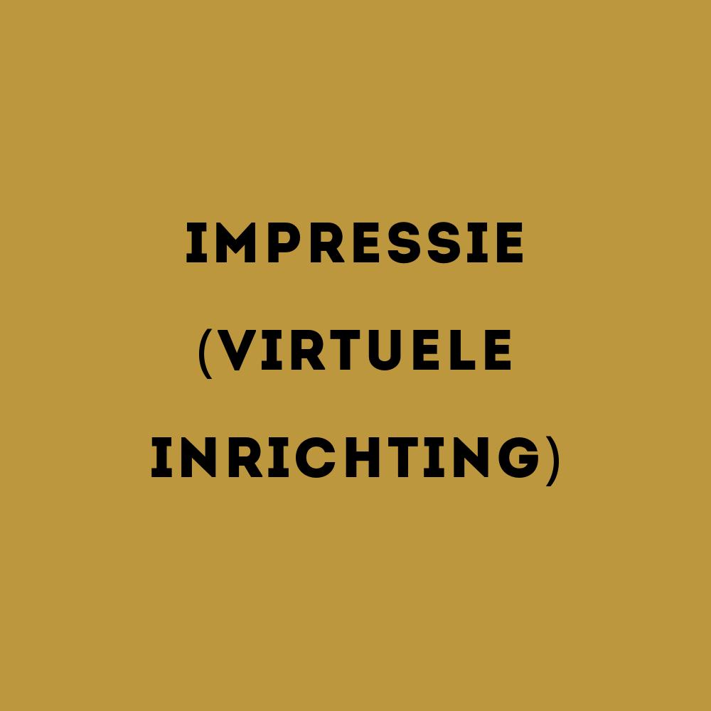 impressie (virtuele inrichting)