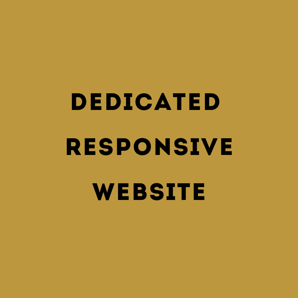 dedicated responsive website