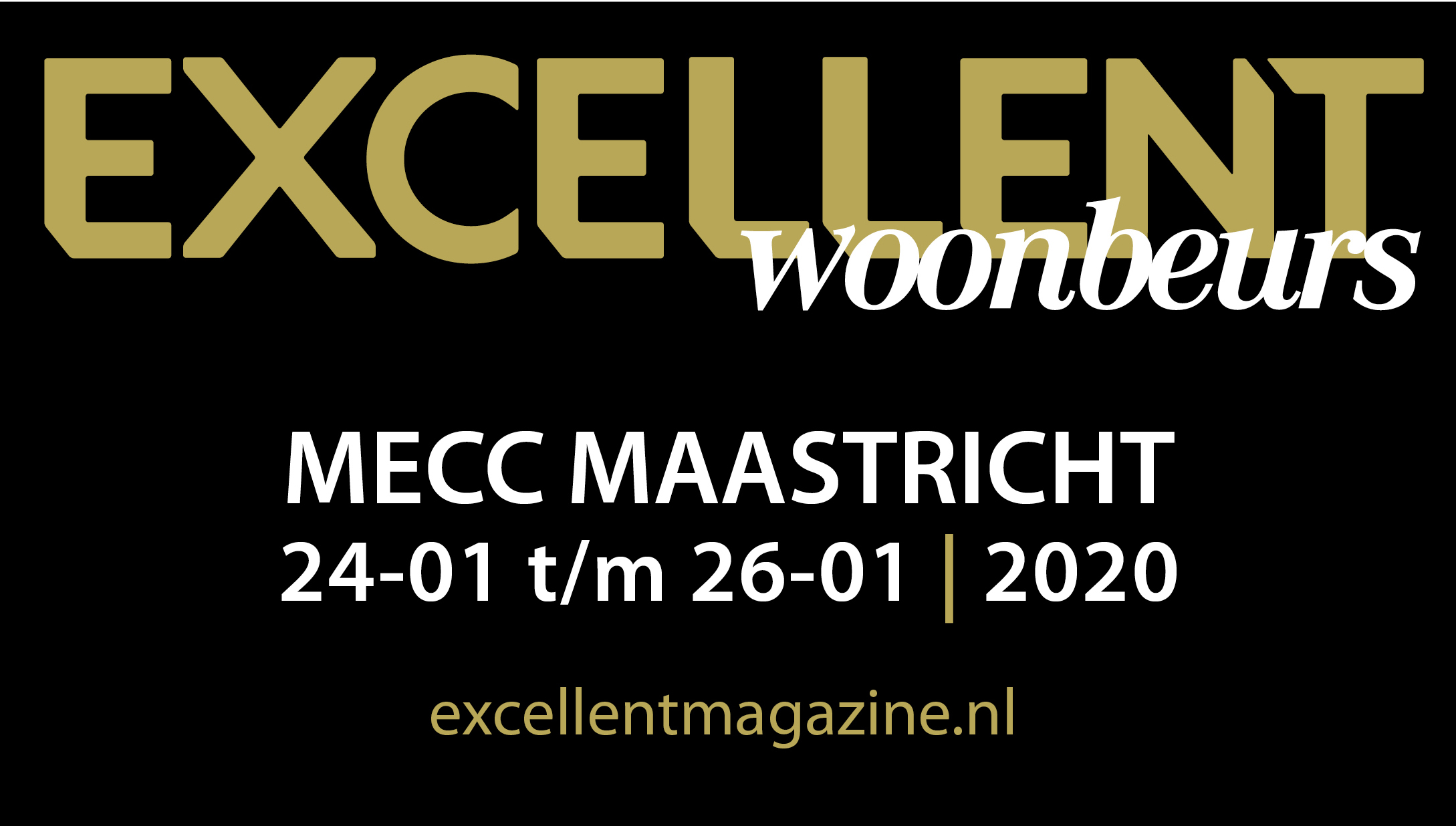 Homesign presents beautiful villas at Excellent Woonbeurs in Maastricht January 2020